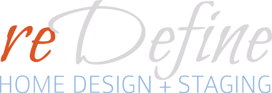 reDefine Home Design - Raleigh NC Interior Design, Raleigh NC Home Staging - Logo